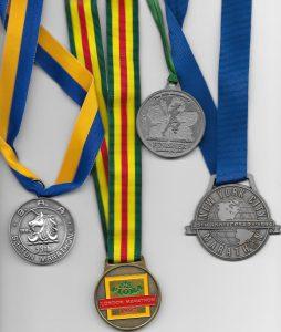 Picture of Greg Welch's Marathon Medals